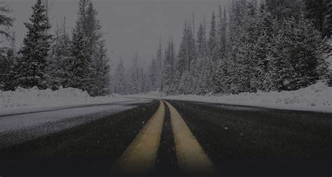 snowy road pacific sound video  local north