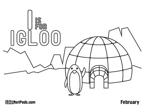 igloo coloring pages igloo coloring page az coloring pages