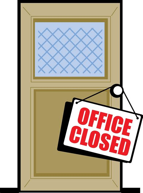 Is The Post Office Closed On Martin Luther King Day by Office Closed Clip Cliparts