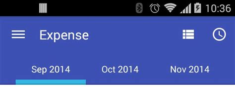 using tab layout in android 如何在 android 滑动选项卡布局中的活动选项卡居中对齐 广瓜网