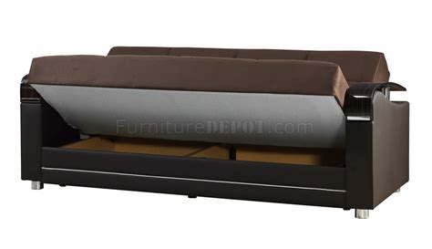Sofa Bed Oscar oscar sofa bed in brown fabric by casamode w options