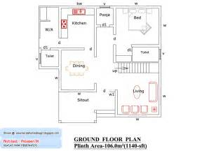 1800 Square Foot Floor Plans by Kerala Home Design And Floor Plans Kerala Home Plan And