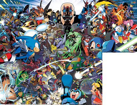 Crossover Sigma bumbleking comics view topic worlds unite sonic mega