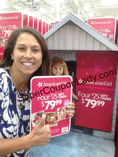 American Girl Gift Card Costco - save 20 at american girl super coupon lady