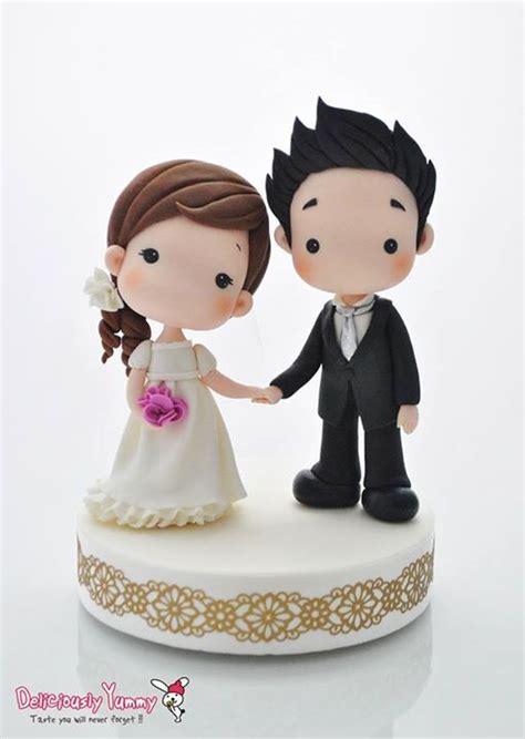 Wedding Toppers by Porcelana Fr 237 A Cold Porcelain Wedding Cake Topper