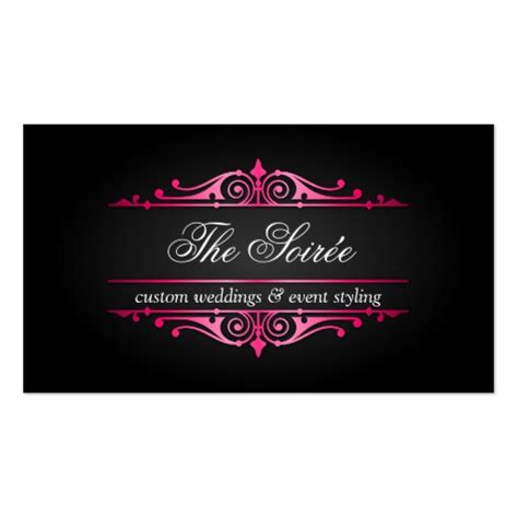 Event Gift Card - luxury event planner business cards zazzle