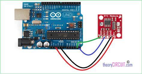 code arduino ds1307 rtc ds 1307 with arduino