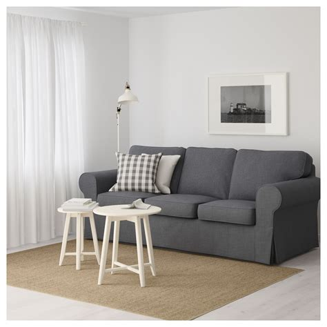 ikea ektorp three seat sofa grey sofas ikea holmsund sleeper sectional 3 seat