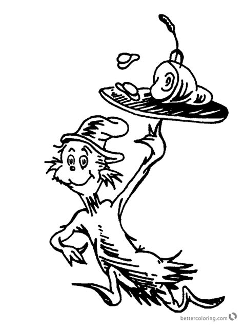 Black And White Coloring Pages dr seuss green eggs and ham coloring pages black and white