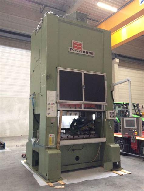 Press Machine press machine 315 t press machines pma ross 4105