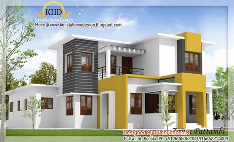 kerala home design 3d plan 8 beautiful house elevation designs kerala home design and floor plans