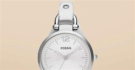 Jam Tangan Pria Cowok Fossil Time Leather B High Quality jam tangan wanita fossil type es2829