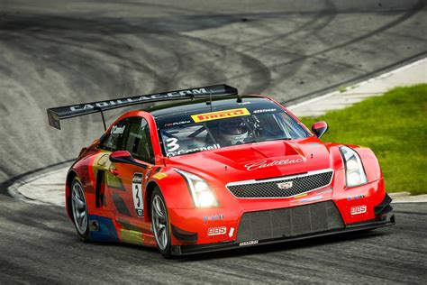 Race On cadillac takes third eighth at lime rock gm authority