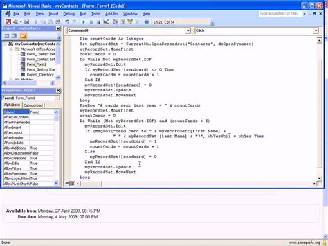 access vba delete loops and recordsets in access vba youtube