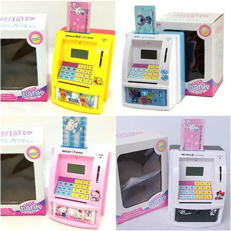 Termurah Celengan Atm Mini Mainan Edukatif Anak Belajar Menabung jual celengan atm mini mainan edukatif anak belajar