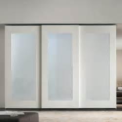replace glass exterior door mirror sliding wardrobe with mirrored doors arredaclick