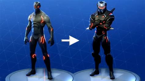 fortnite omega skin outfit upgraden herausforderung