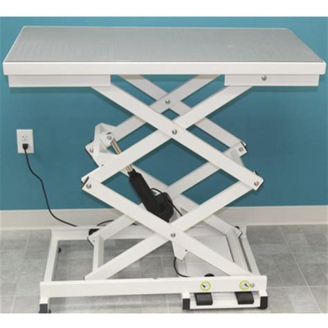 electric grooming table reviews dura duralow electric grooming table groomer s choice