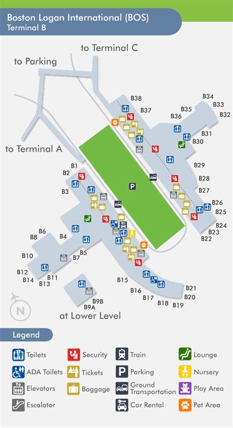 logan airport map terminal b logan map laminatoff