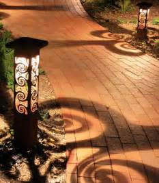 Decorative Patio Lights Decorative Steel Bollard Lights Contemporary Outdoor Lighting Indianapolis By Lite4