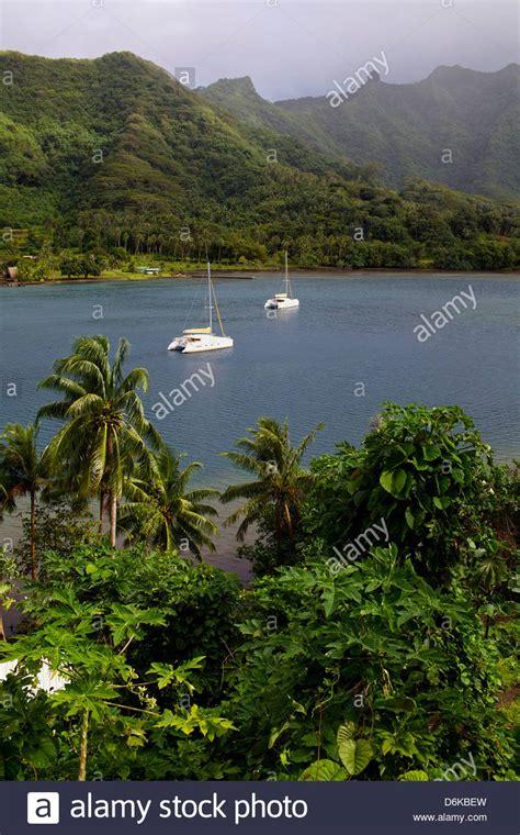 boat cruise pacific islands polynesia boat stock photos polynesia boat stock images