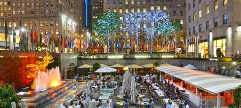 Summer Garden And Bar by How Is Rockefeller Center