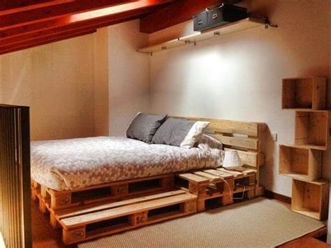 diy wood pallet bed 12 diy recycled pallet bed ideas diy and crafts