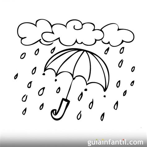 lluvia para colorear pintar im genes lluvia para colorear related keywords lluvia para