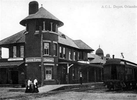 florida memory southern express company railroad depot