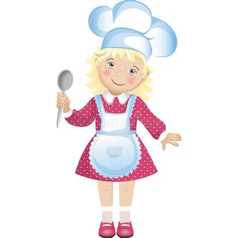 clipart cuoco cuoco unico illustrazione vettoriale illustrazione