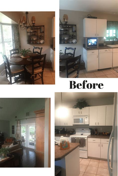 cred dated kitchen becomes bright and open before and cred dated kitchen becomes bright and open before and