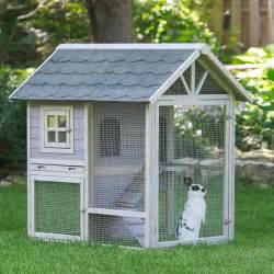 kaninchen haus boomer george tiered outdoor rabbit hutch with run