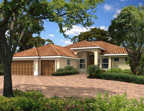 Florida Style House Plans by 4 Bedroom 3 Bath Mediterranean House Plan Alp 0187