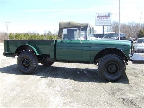 Jeep Convertible Top 1968 Kaiser Jeep M715 1 1 4 Ton 4x4 Convertible Top Truck