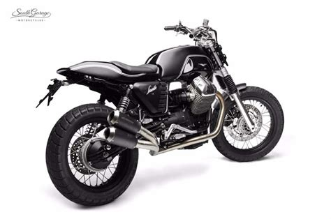 The Garage Motor Club by Ottonero Cafe Racer V7 Quot Savile Quot South Garage Motor Co