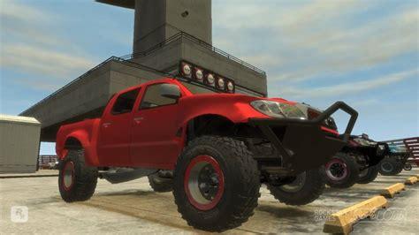 toyota trucks sa toyota hilux trophy truck gta iv mod crash testing