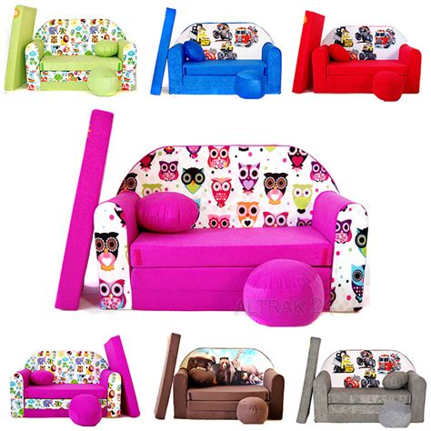 kids bed settee kids foam sofa foam sofa bed fold out kids multi colours