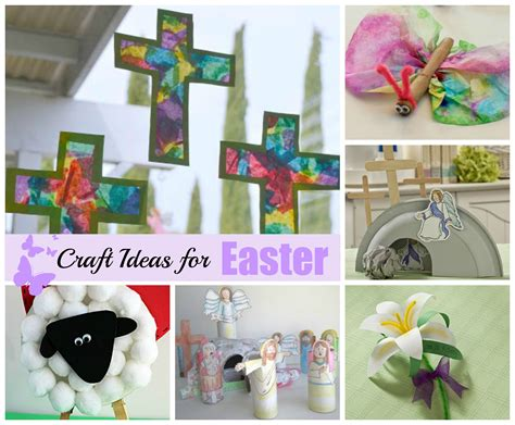 easter crafts celebrating holidays