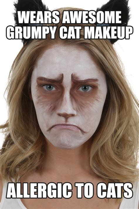 grumpy cat makeup tutorial halloween costumes blog