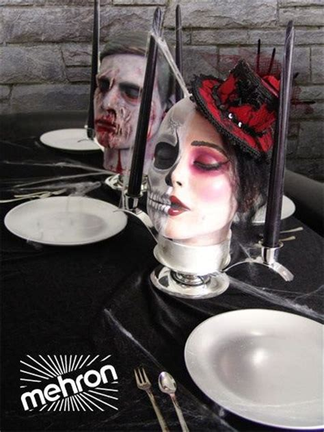 centerpieces diy buy mannequin heads at