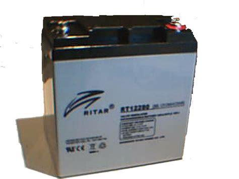 Baterai Ritar ritar 28ah battery battery golf buggies