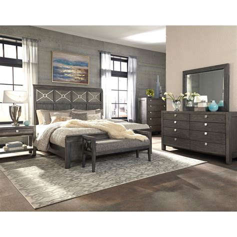 trisha yearwood home collection  klaussner  city queen bed complete darvin furniture