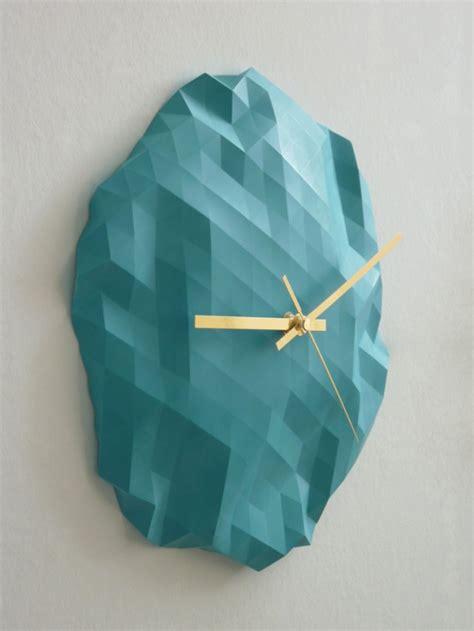How To Make An Origami Clock - origami clock fubiz media