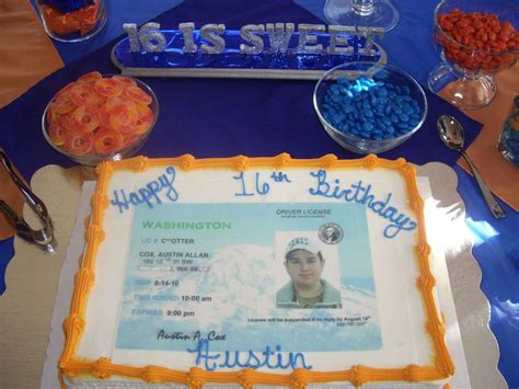 drivers license birthday party ideas photo