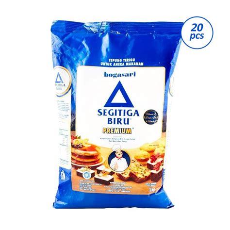 Tepung Cakra 1kg 1 jual bogasari segitiga biru tepung terigu 1 kg 20 pcs harga kualitas terjamin