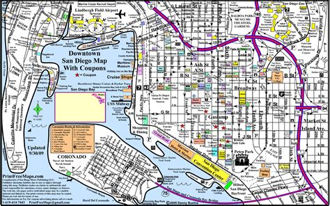 map of san diego ca san diego maps my