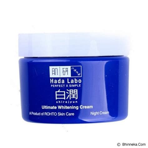 jual hada labo shirojyun ultimate whitening