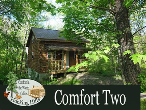 Comfort In The Woods by Hocking Ohio Cabins Comfort In The Woods Cabins