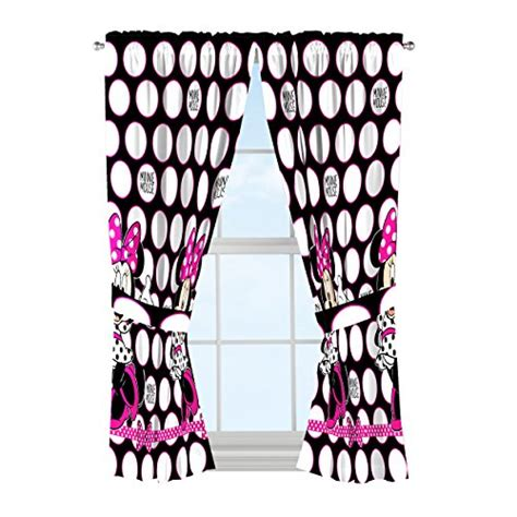 pink minnie mouse curtains disney minnie mouse window panels curtains drapes pink bow
