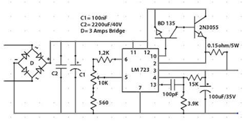 Trafo 10a O 6v 30v lm723 2 5a 0 30 volts variable power supply loublet